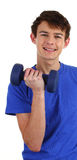 Workout guy Stock Photography