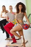 Workout at the gym Royalty Free Stock Photo