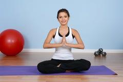 Workout At Gym Royalty Free Stock Image