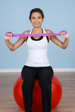 Workout At Gym Stock Photography