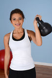 Workout At Gym Royalty Free Stock Photo