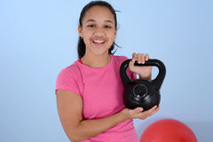Workout At Gym Royalty Free Stock Images
