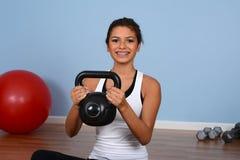 Workout At Gym Stock Photos