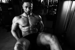 Workout Leg Exercises Close Up Royalty Free Stock Image
