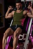 Workout Leg Press Royalty Free Stock Image