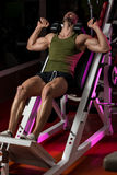 Workout Leg Press Stock Photos