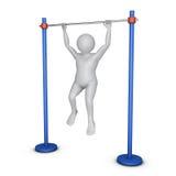Workout man Royalty Free Stock Image
