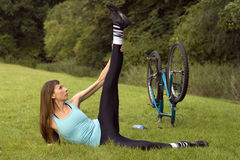 Workout outdoor Stock Images
