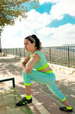 Workout Outdoors Stock Image