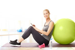 After workout Royalty Free Stock Photography