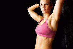 After Workout Portrait Royalty Free Stock Photos