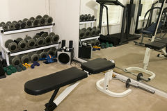 Workout Room Royalty Free Stock Images