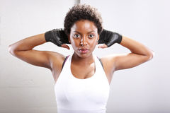 Workout routine Royalty Free Stock Image