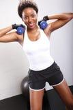 Workout routine Royalty Free Stock Photos