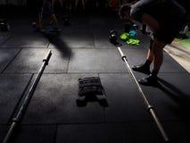 Workout setup stock photos