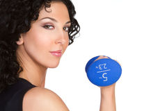 Workout Woman. Fitness health exercise workout woman Royalty Free Stock Photos