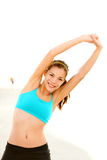 Workout woman Stock Image