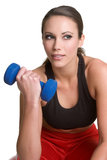 Workout Woman. Beautiful healthy fitness workout woman Stock Images