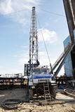 Workover rig Royalty Free Stock Photography