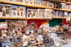 Workpiece for creating miniature Christmas scenes Stock Image