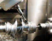 Workpiece da máquina de perfuração Foto de Stock