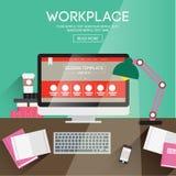 workplace Ilustracji