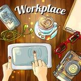 workplace Photo libre de droits