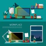 workplace Zdjęcie Royalty Free