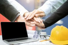 Workplace of architect,Engineering tools stock photos