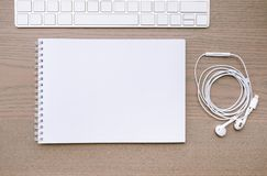 Workplace background royalty free stock image