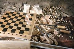 Workplace carpenter Stock Photo