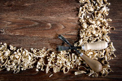 Workplace carpenter Royalty Free Stock Photography
