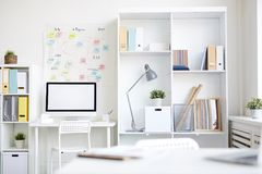 Workplace of designer Stock Photography