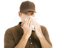 Workplace Flu Royalty Free Stock Photos