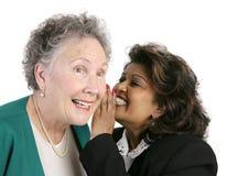Workplace Gossip Stock Photos