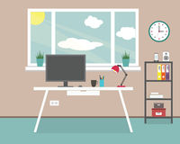 Workplace at home, office Stock Photography