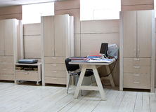 Workplace of the manager at modern office Stock Images