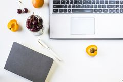 Workplace minimalism concept royalty free stock photo