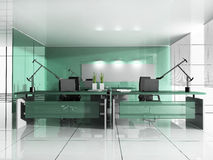 Workplace at modern office Stock Photo
