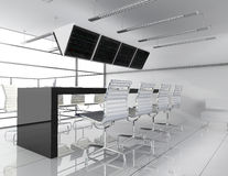 Workplace at office Royalty Free Stock Photography