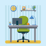 Workplace in office. Royalty Free Stock Image