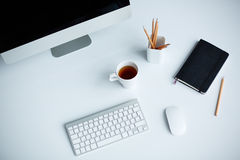 Workplace at office Royalty Free Stock Images
