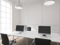 Workplace in an office Royalty Free Stock Photo