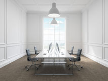 Workplace in an office Royalty Free Stock Image