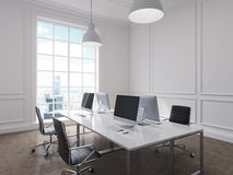 Workplace in an office Stock Photography
