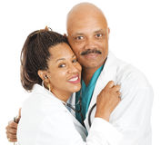 Workplace Romance - Doctors in Love Stock Photography