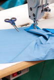 Workplace seamstress Stock Image