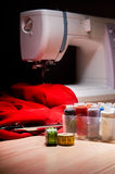 Workplace seamstress Royalty Free Stock Photos