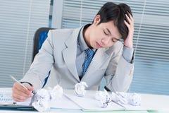 Workplace stress Stock Photos