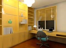 Workroom moderno ilustração royalty free